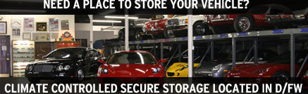 dallas car storage