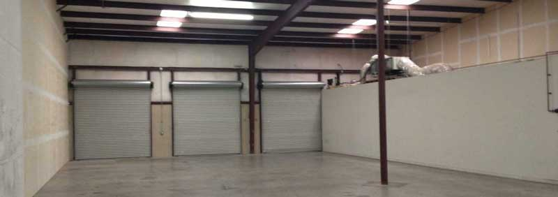 Small warehouse for rent in Fort Worth area perfect for small business