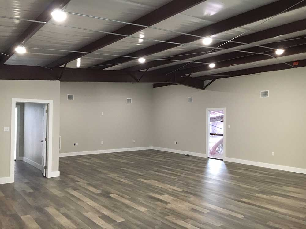 Industrial space for lease with large office space